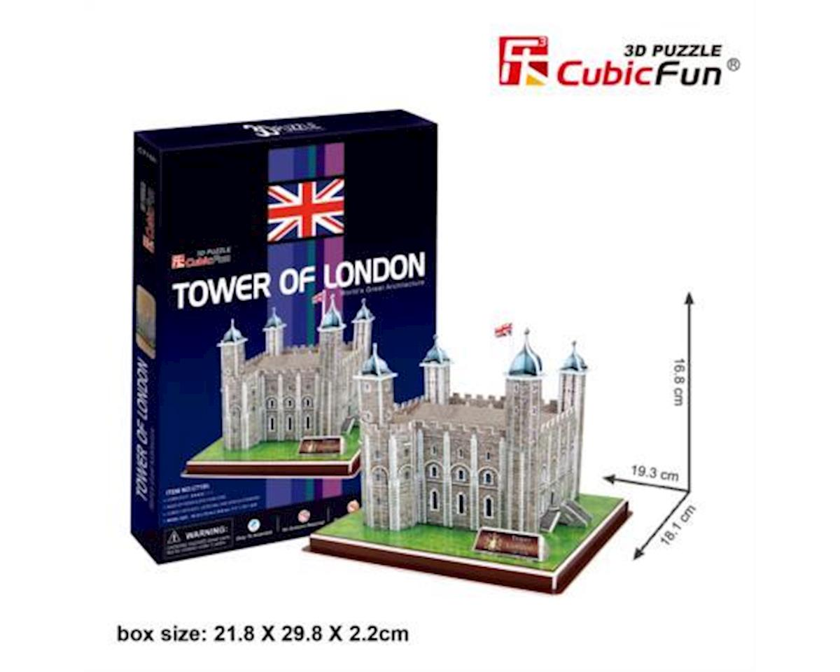 Tower Of London 3D Puzzle by Cubic Fun