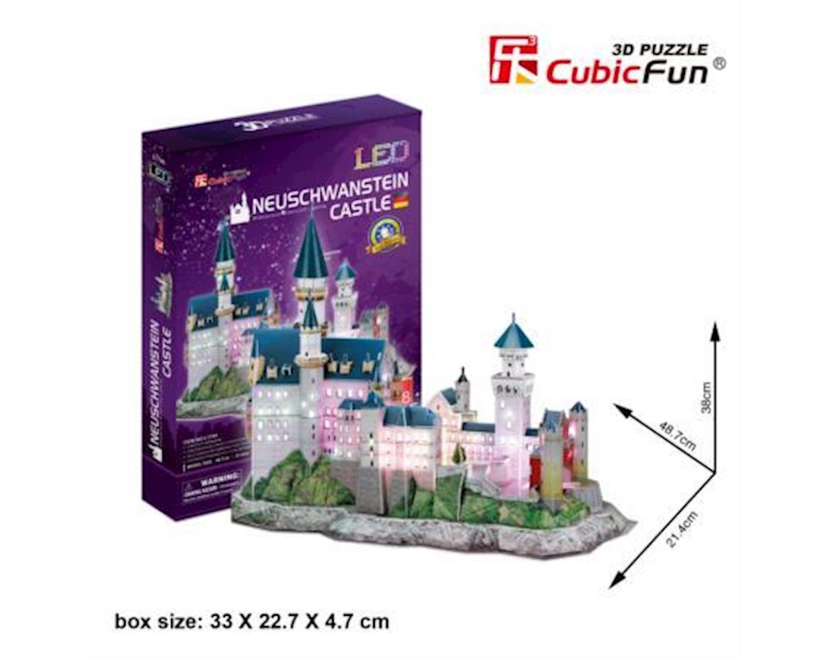 Cubic Fun Neuschwanstein Castle W/ Led 3D Puz