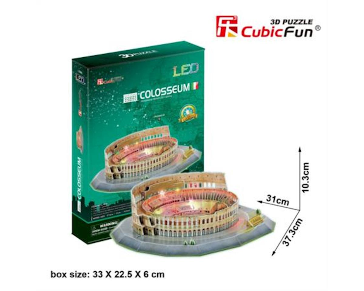 Cubic Fun CubicFun LED 3D Puzzle Paper Model - The Colosseum (Italy), 185 pcs