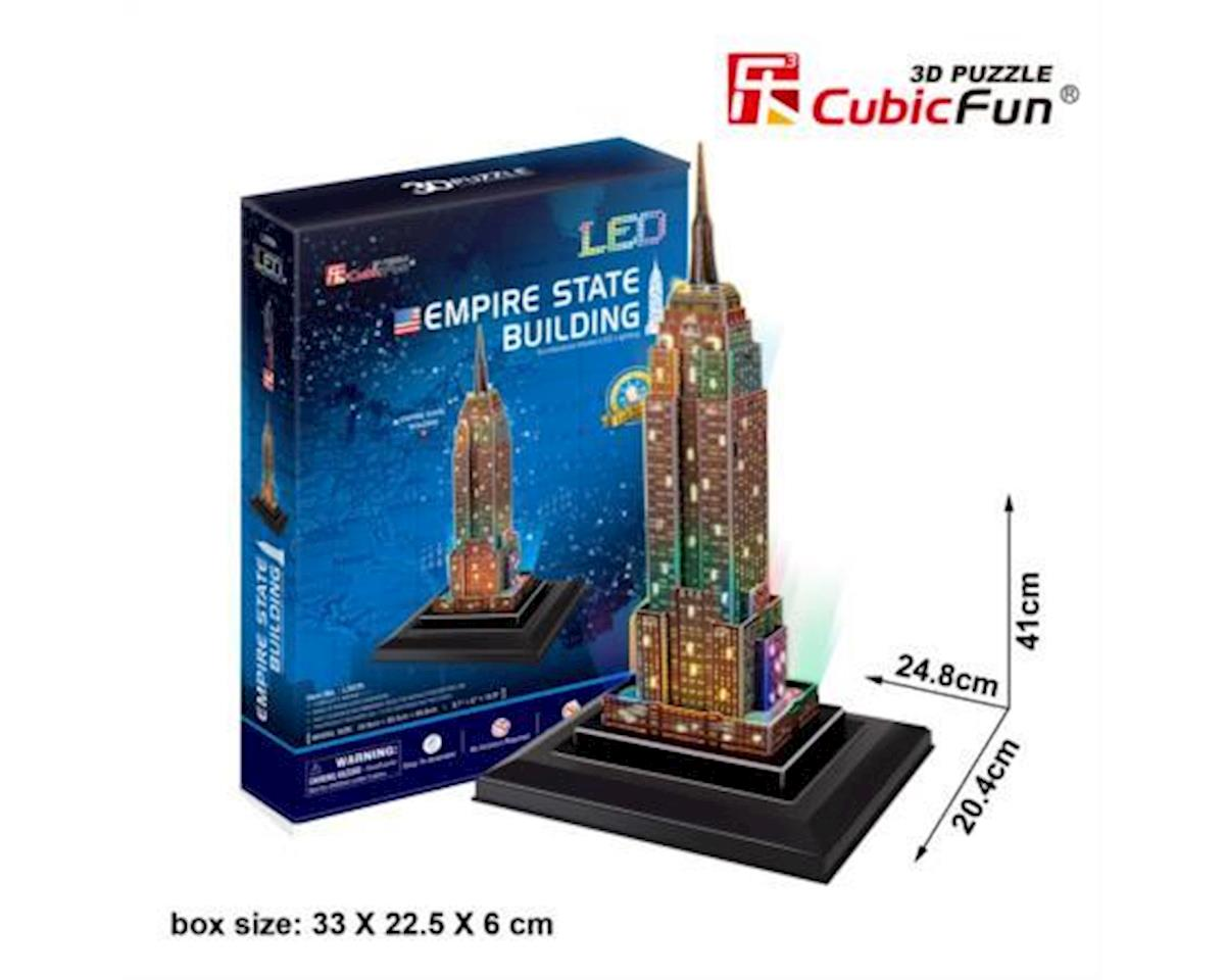 Cubic Fun Empire State Building W/ Led 3D Puz
