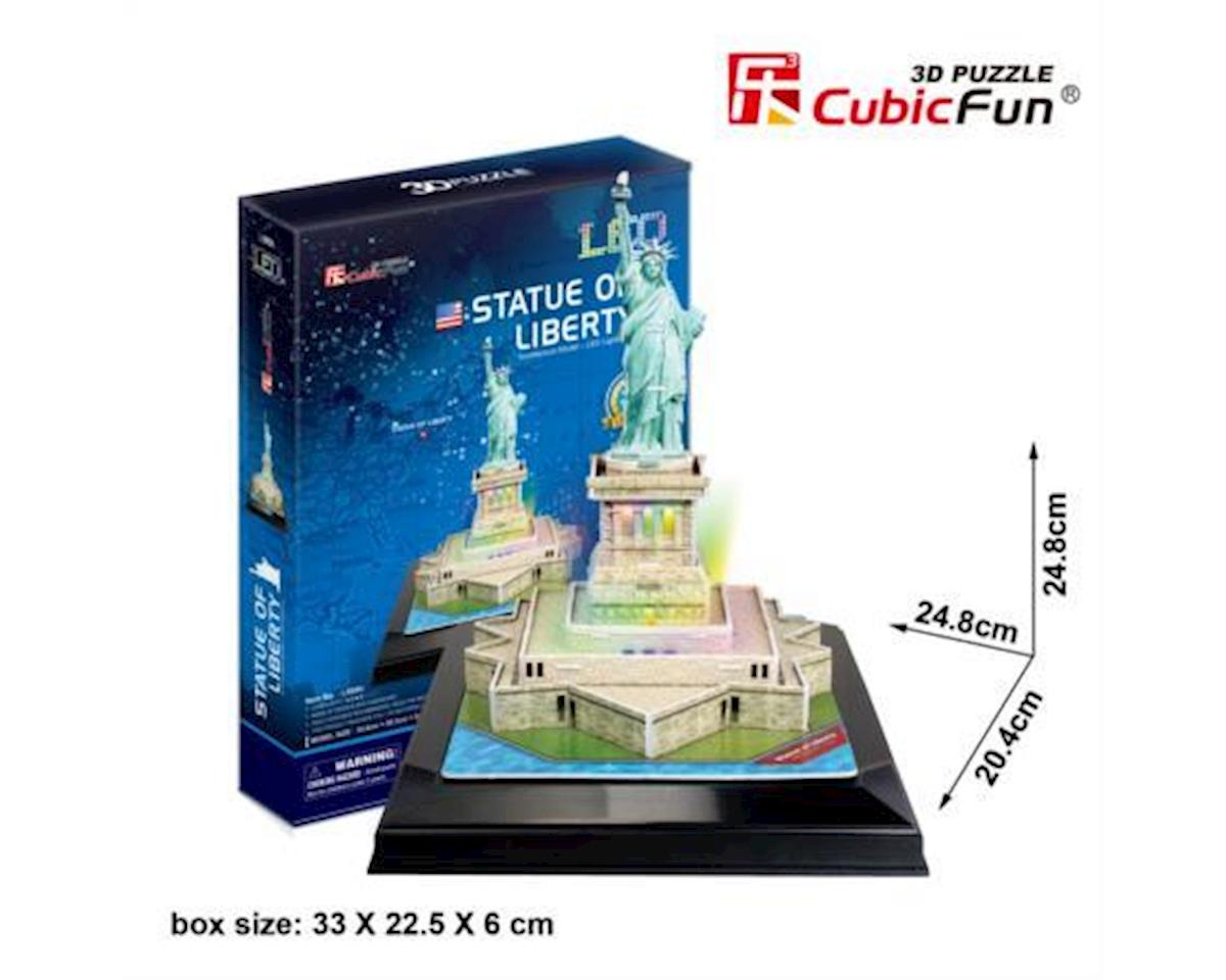 Cubic Fun Statue Of Liberty W/ Led 3D Puz