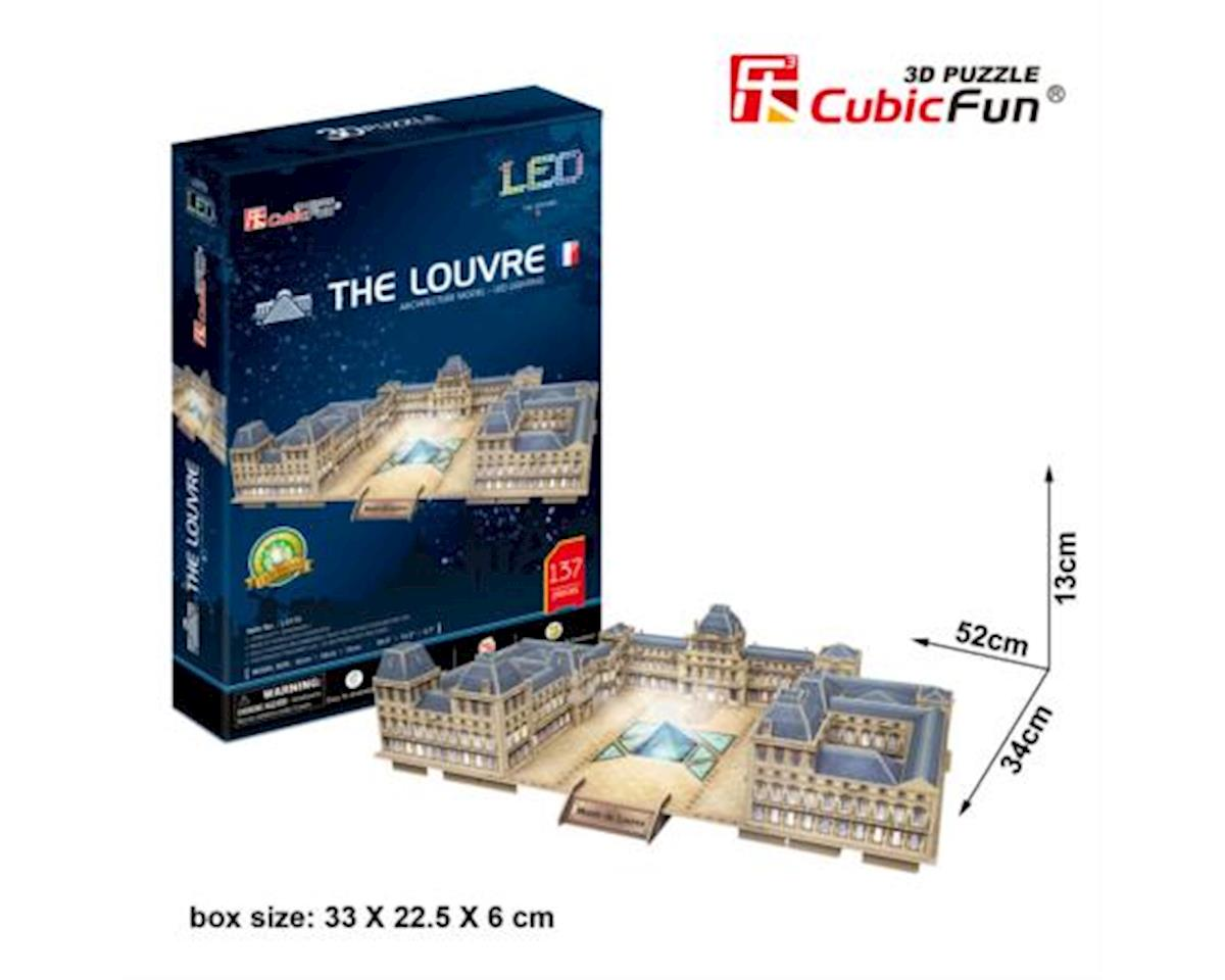 L517h The Louvre (with LEDs) Puzzle, 137 Pieces