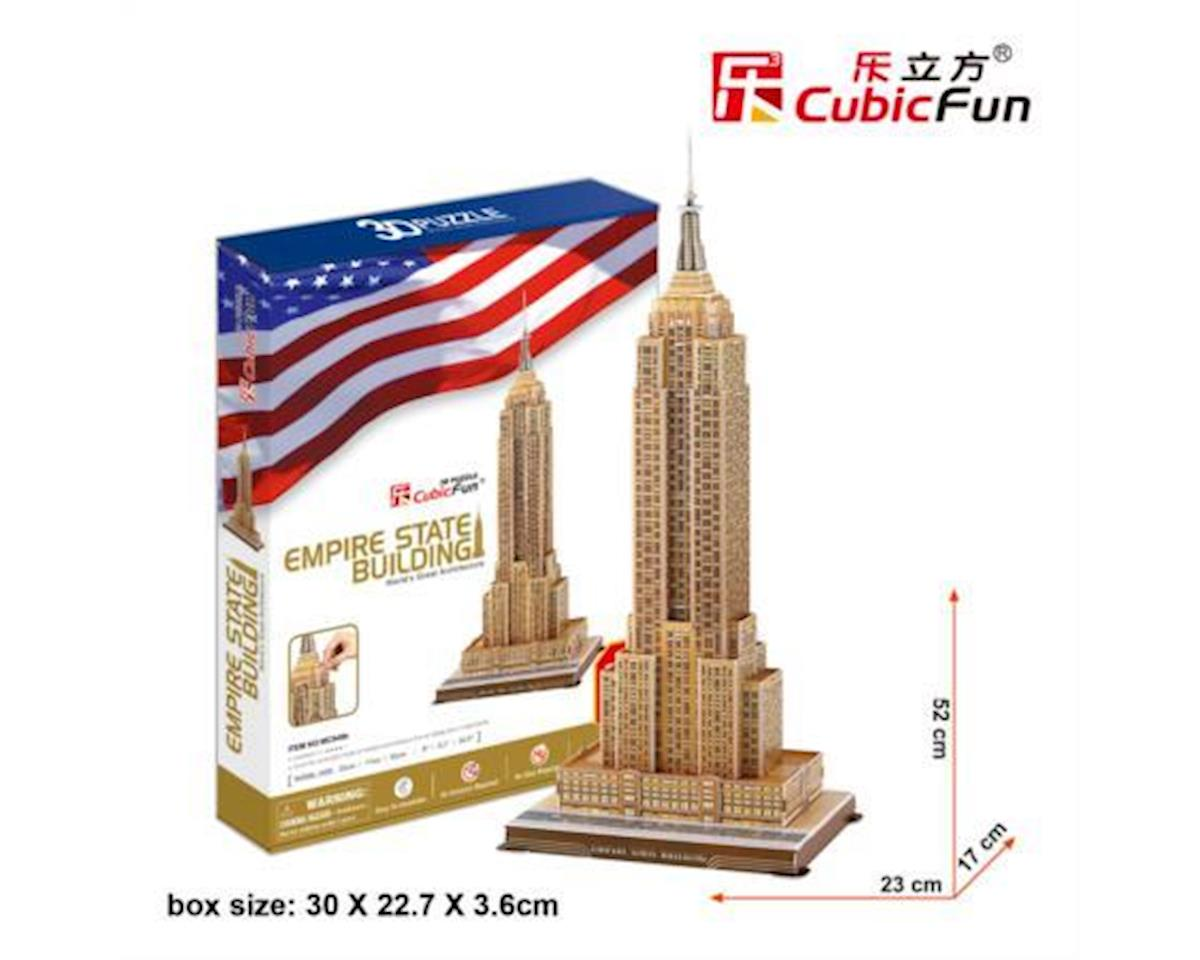 Cubic Fun Empire State Building 3D Puzzle