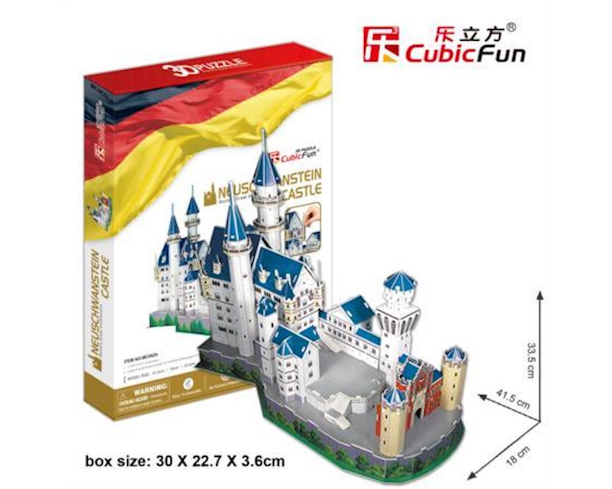 Cubic Fun Neuschwanstein Castle 3D Puz