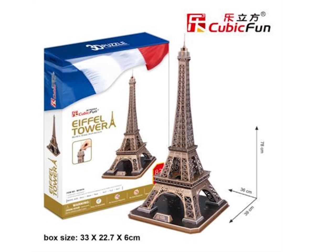 Cubic Fun Eiffel Tower 3D Puzzle