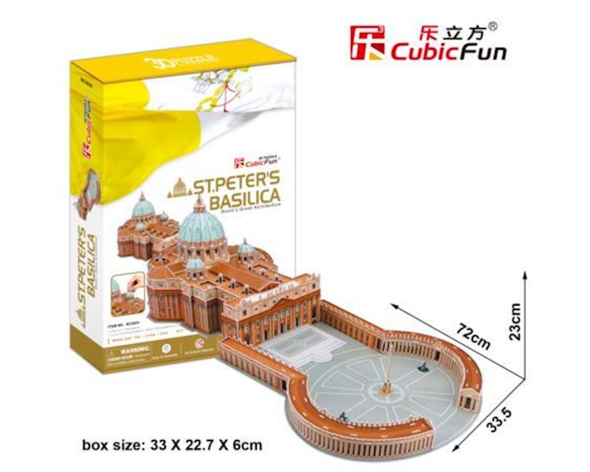 Cubic Fun St. Peters Basilica 3D Puzzle