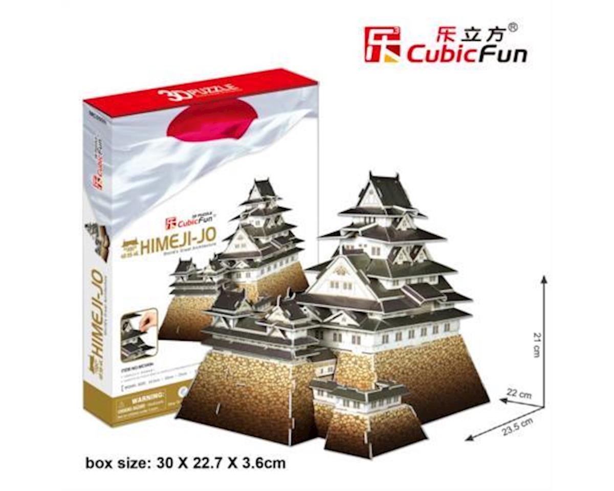 Cubic Fun Himeji-Jo Castle Japan 3D Puz