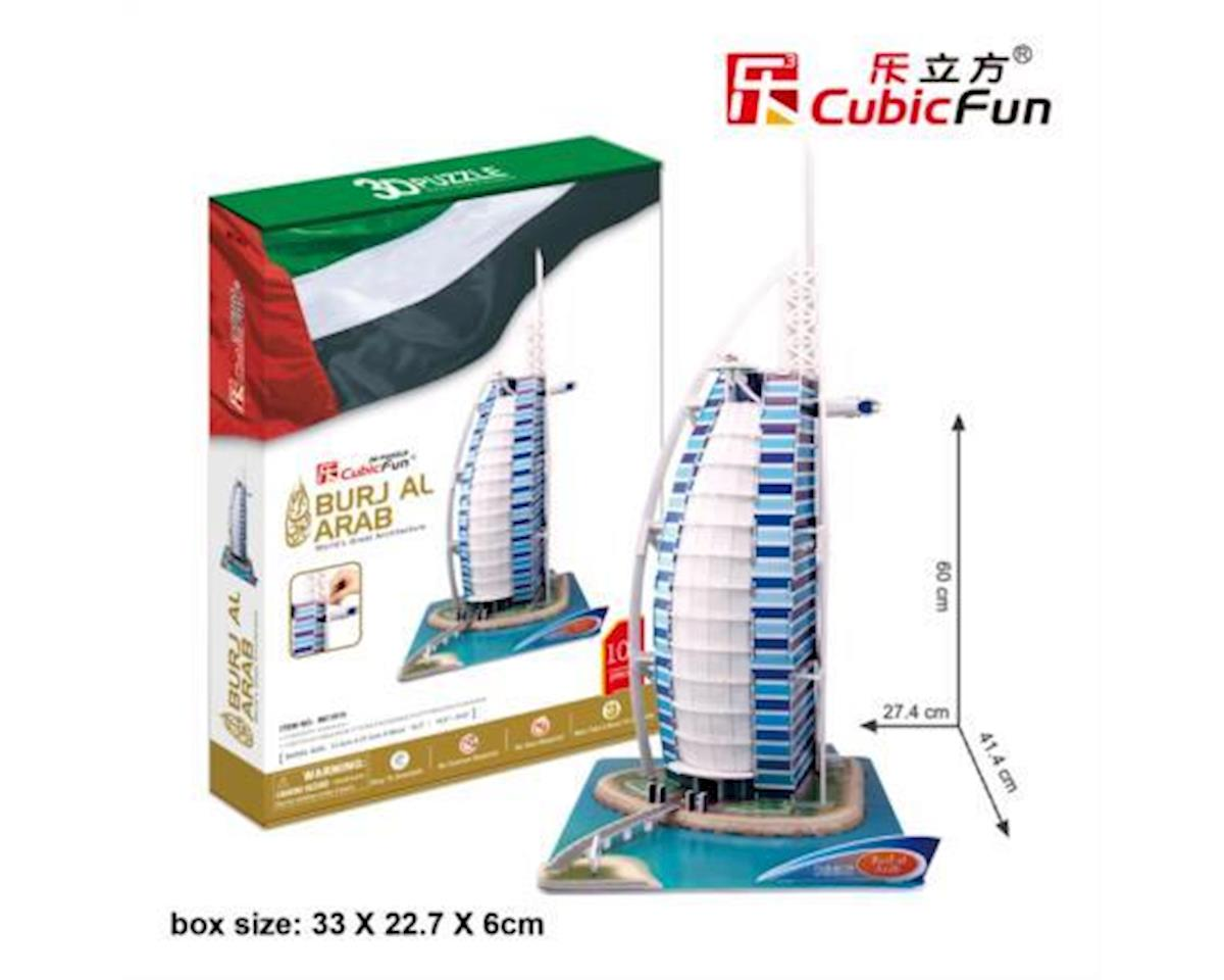 Cubic Fun Burj Al Arab Dubai 3D Puzzle