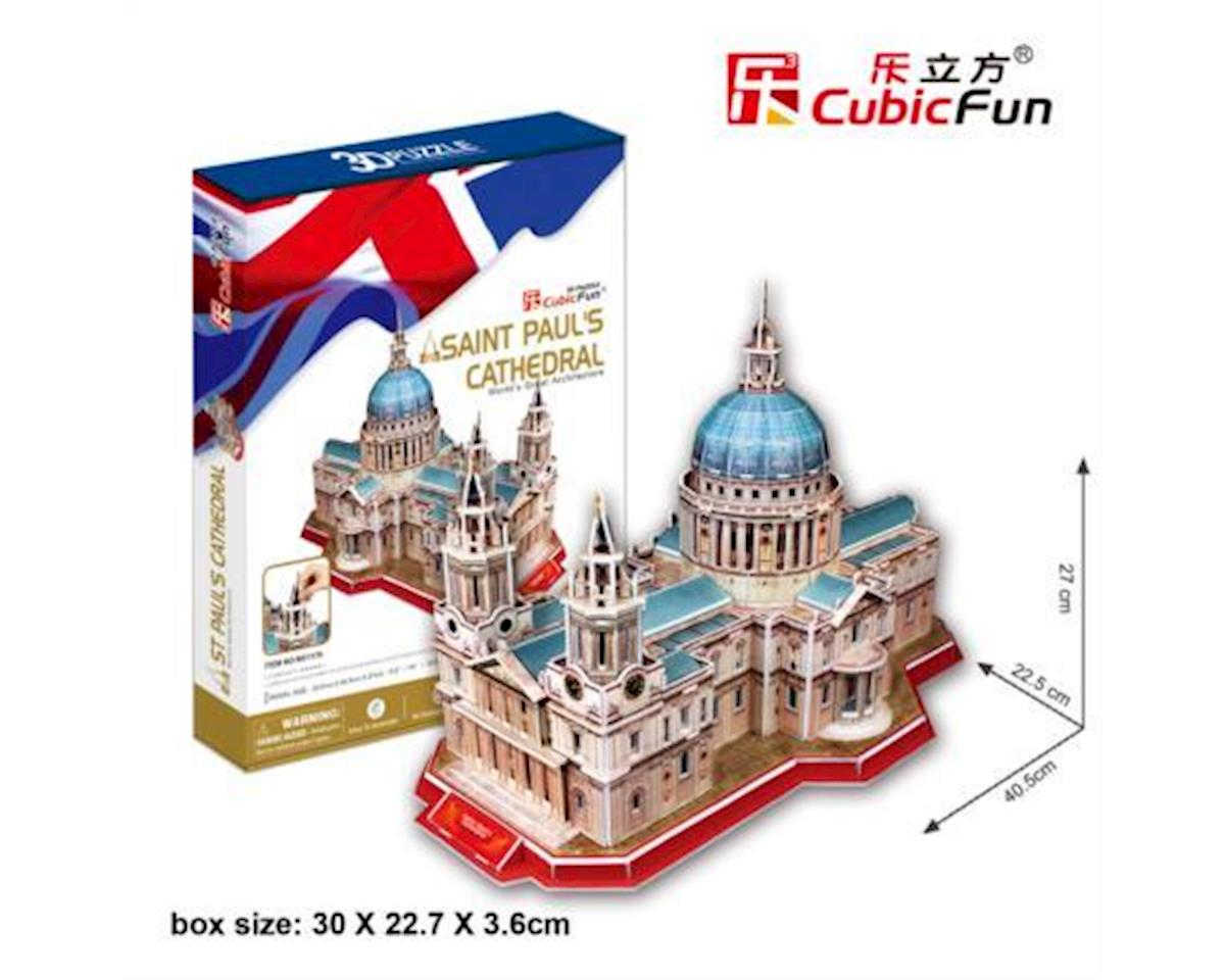 Cubic Fun St. Paul's Cathedral 3D Puzzle