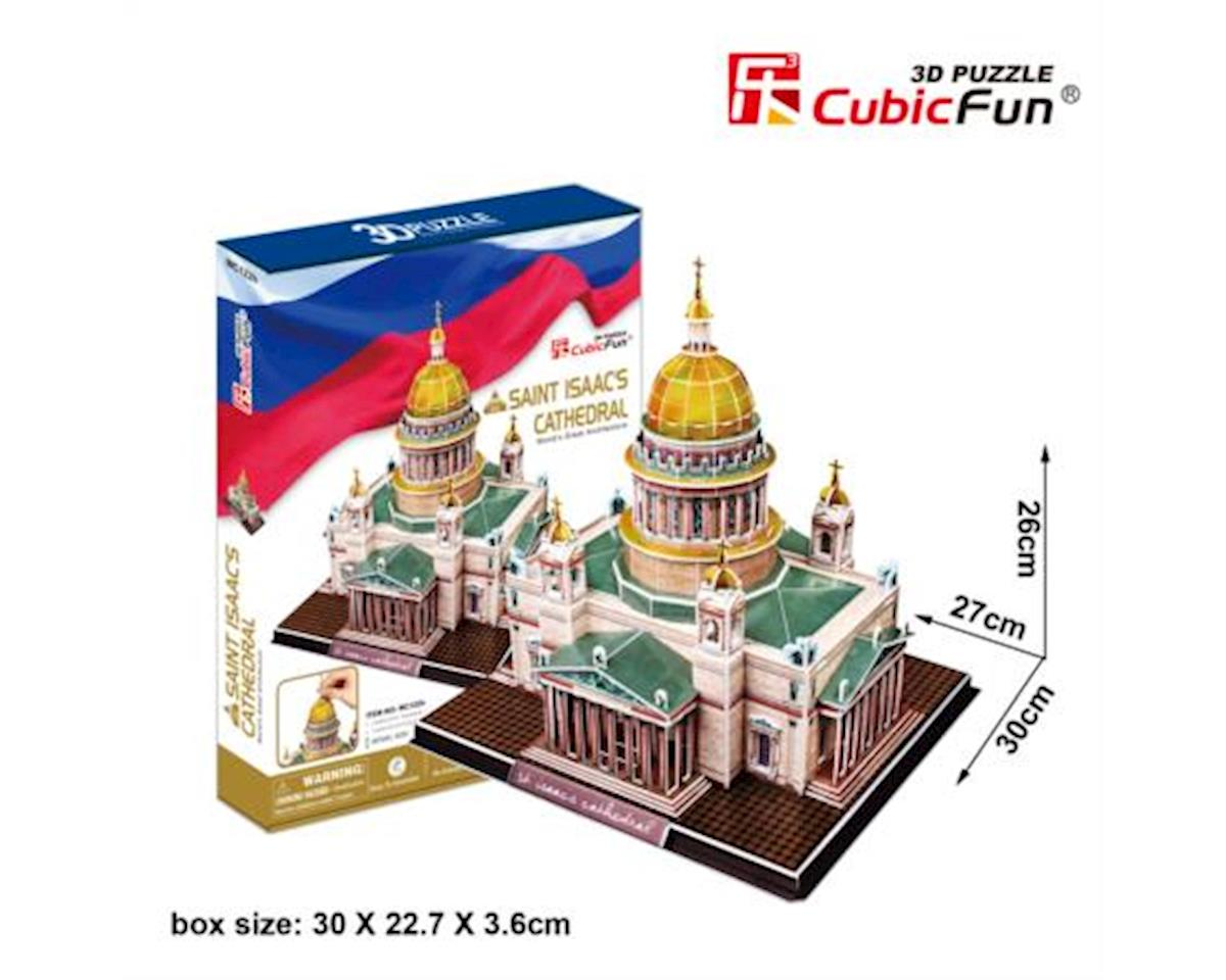 MC122h St. Issacs Cathedral 3D Puzzle