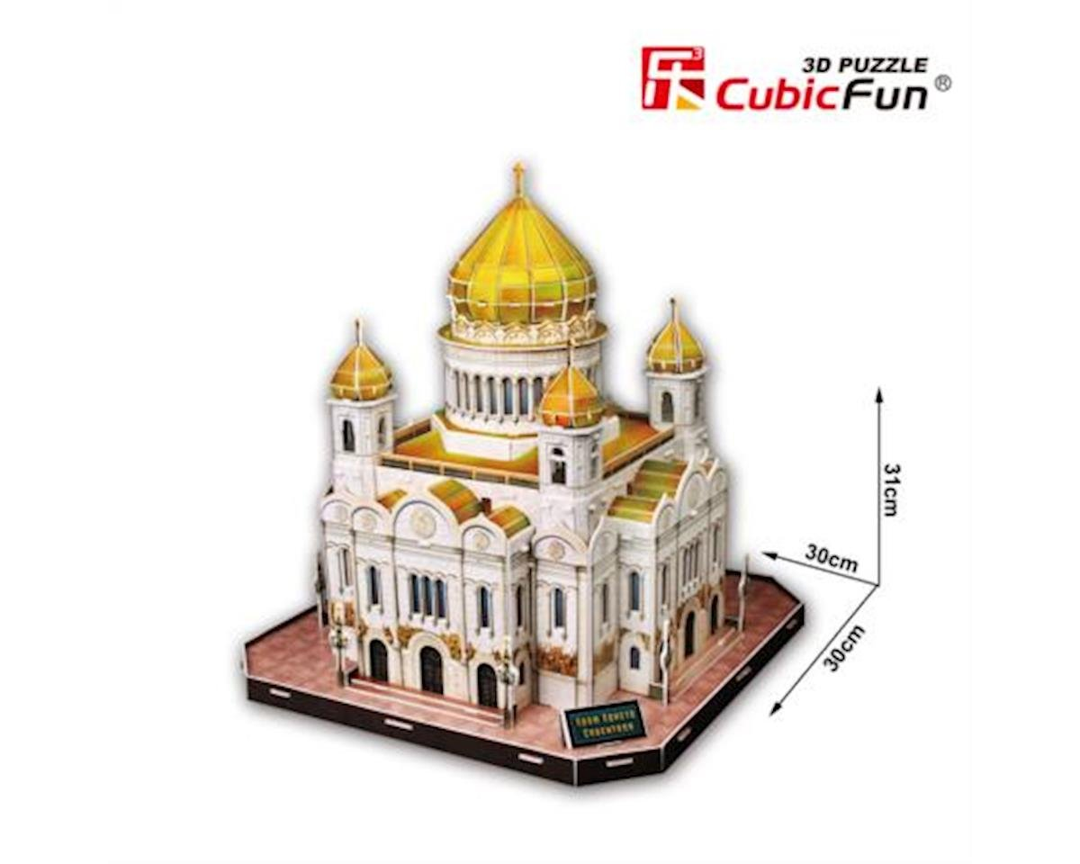 MC125H Cathedral of The Christ Savior Puzzle