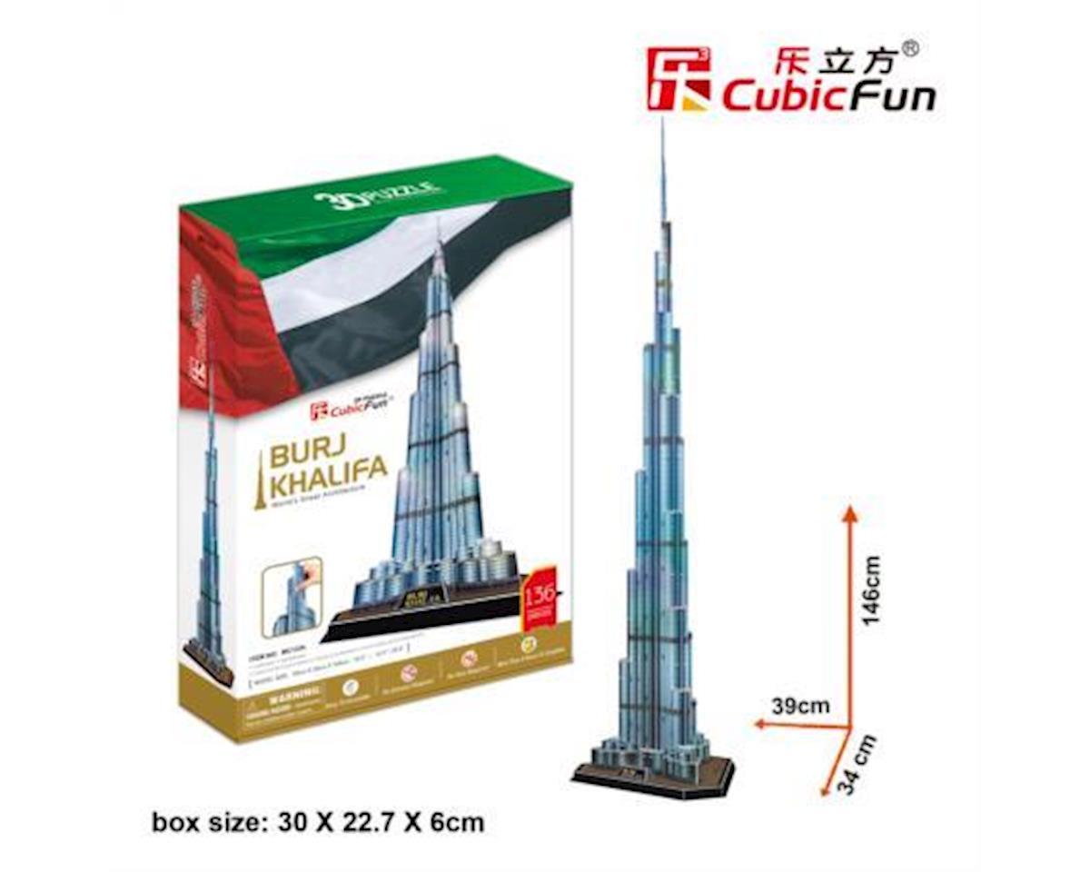 Cubic Fun Burj Khalifa Dubai 3D Puzzle