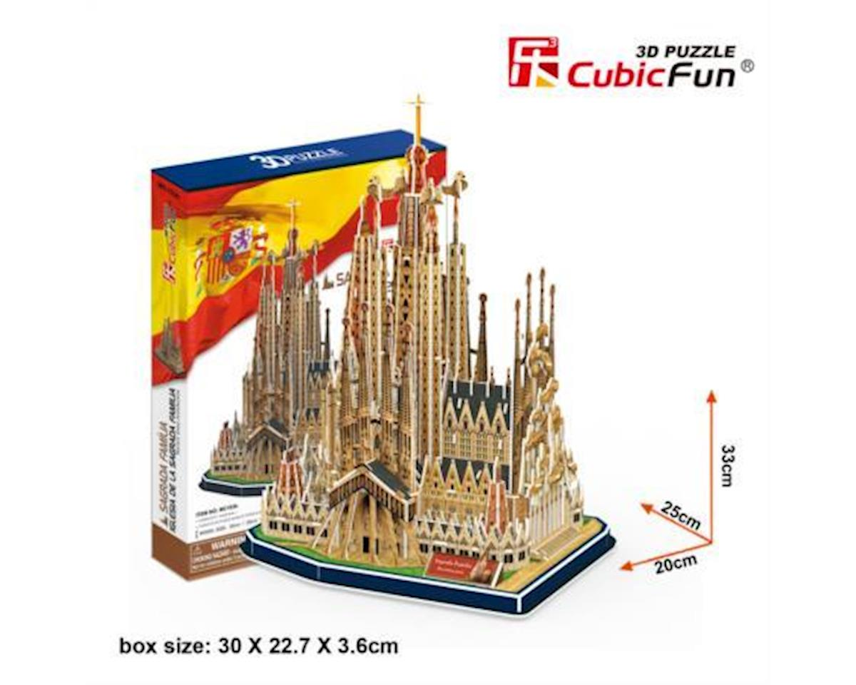 Cubic Fun Sagrada Familia Spain 3D Puz