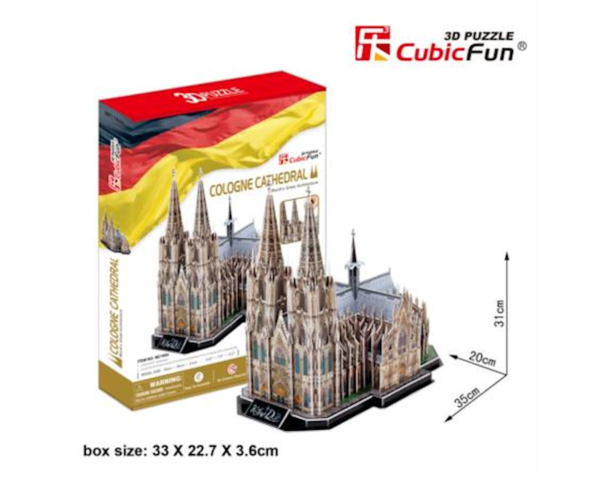 "CubicFun 3D Puzzle MC-Series ""The Cologne Cathedral - Cologne"" by Cubic Fun"