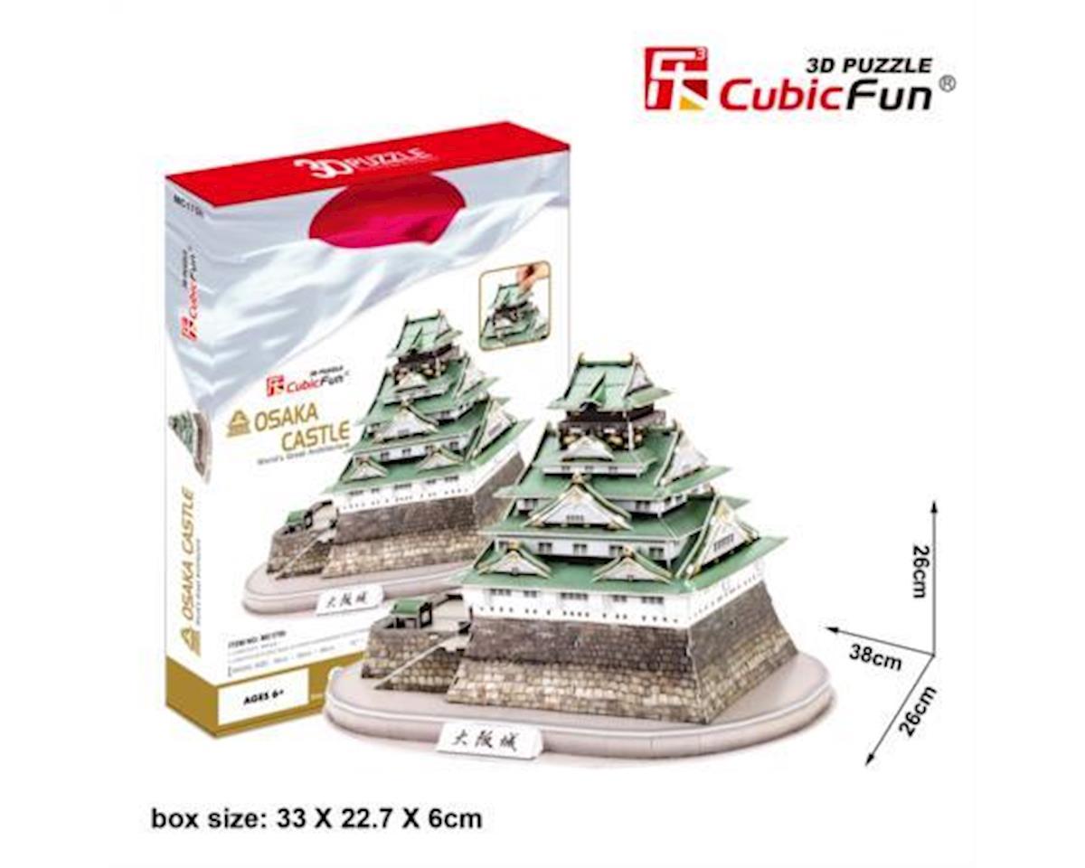 Cubic Fun Osaka Castle Japan