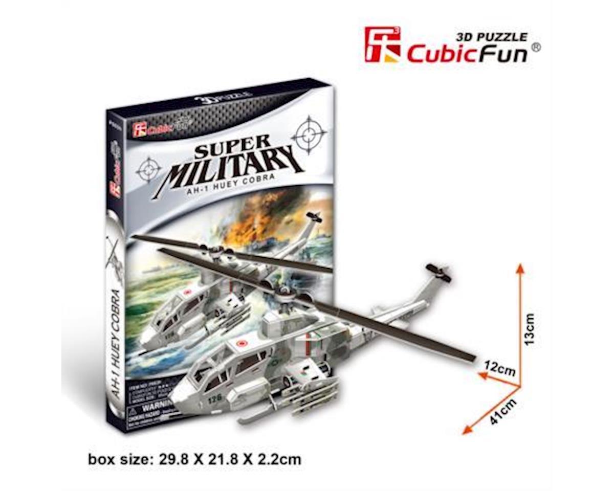 Cubic Fun Ah-1 Huey Cobra Helicopter 3D Puz