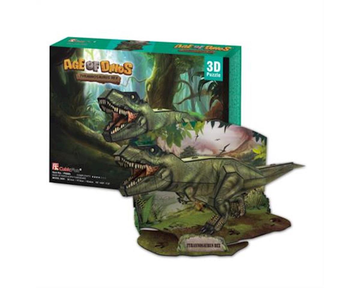 Cubic Fun Tyrannosarus Rex 3D Puzzle