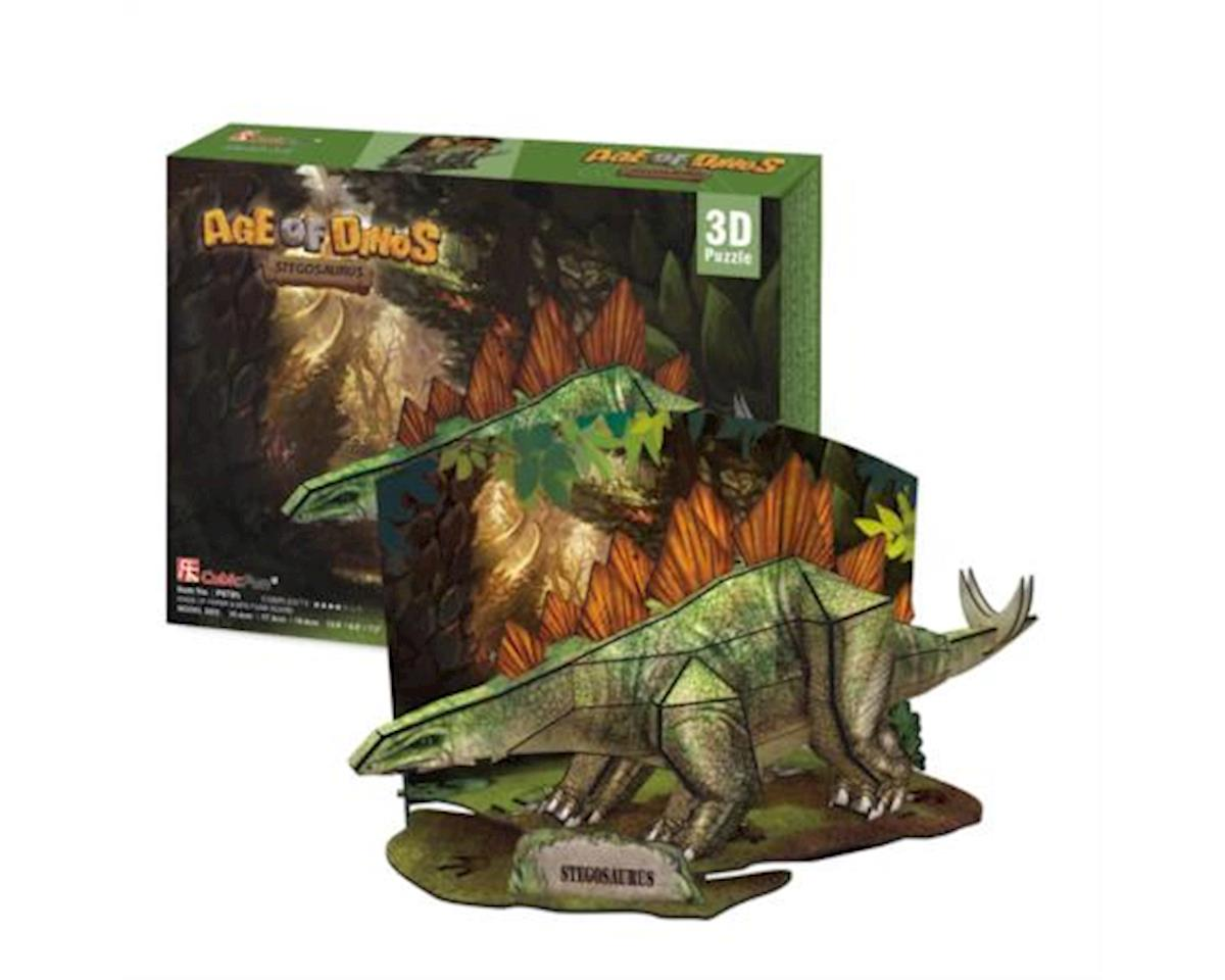 Cubic Fun Stegosaurus 3D Puzzle