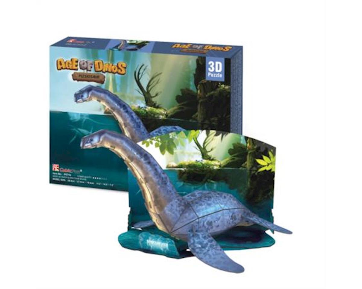 Plesiosaur 3D Puzzle by Cubic Fun