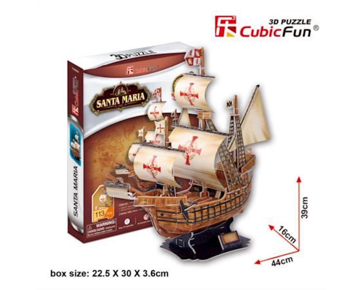 Cubic Fun The Santa Maria 3D Puzzle