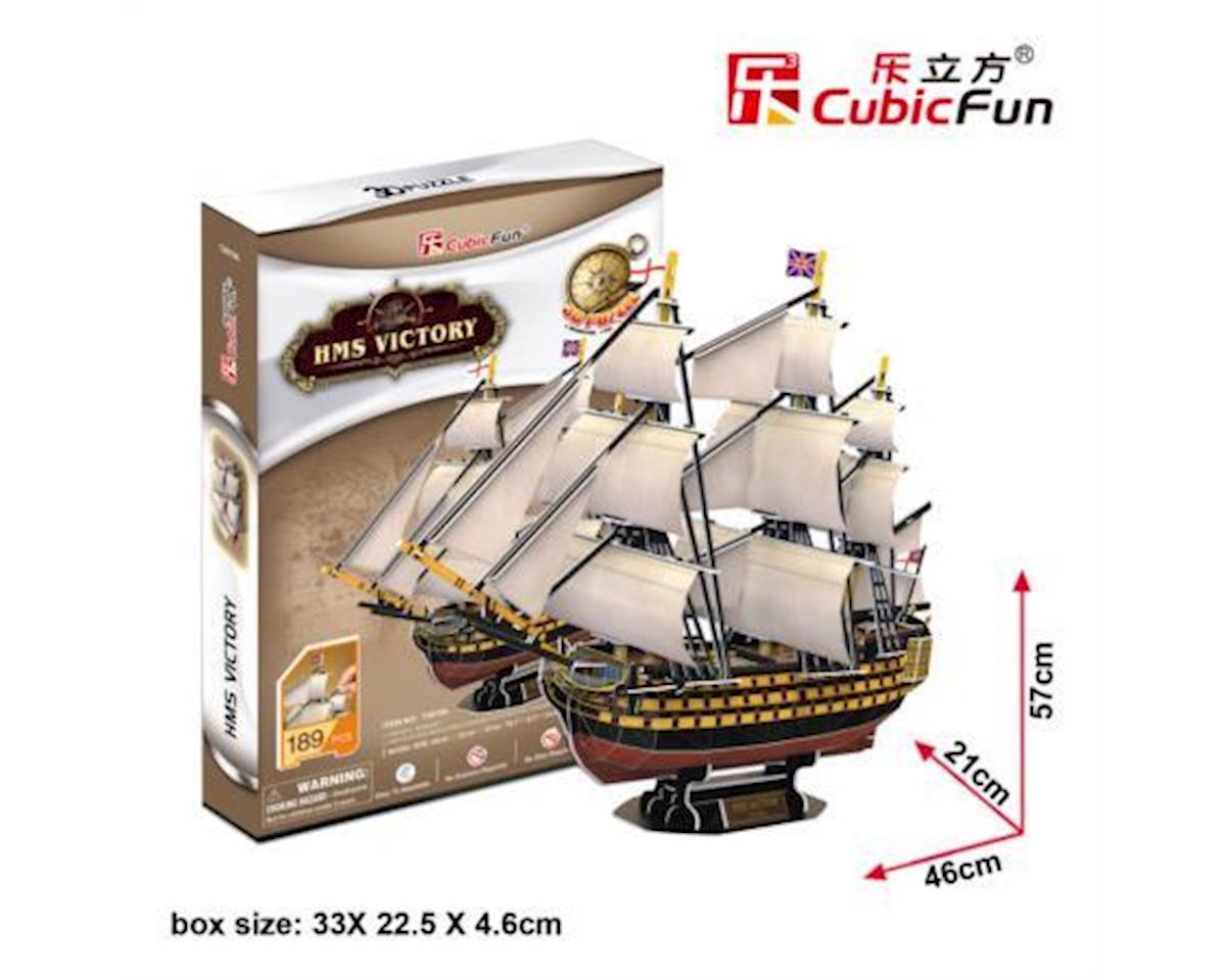 Cubic Fun Hms Victory 3D Puzzle