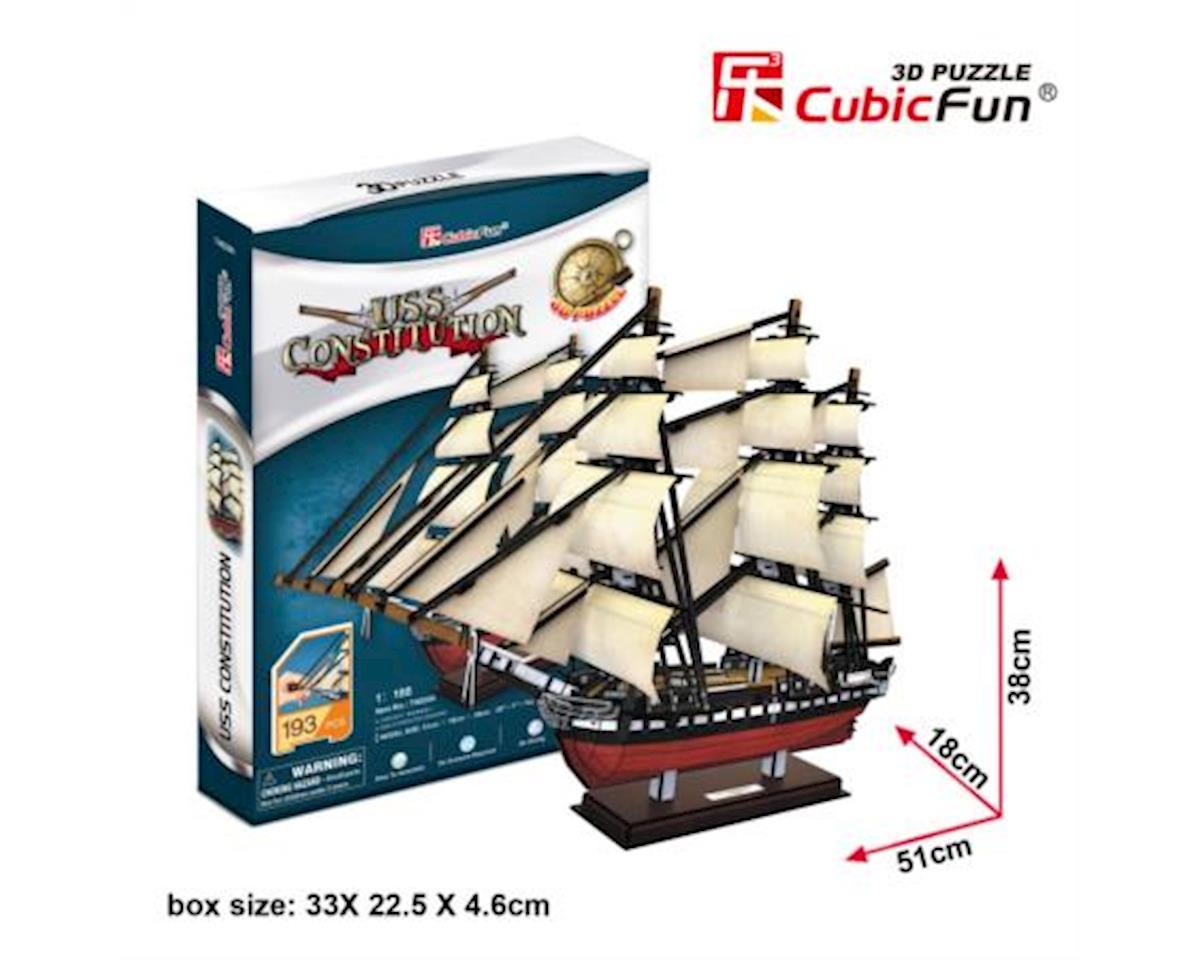 Cubic Fun Uss Constitution