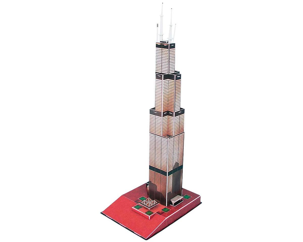 Cubic Fun Willis (Sears) Tower 3D 51Pcs