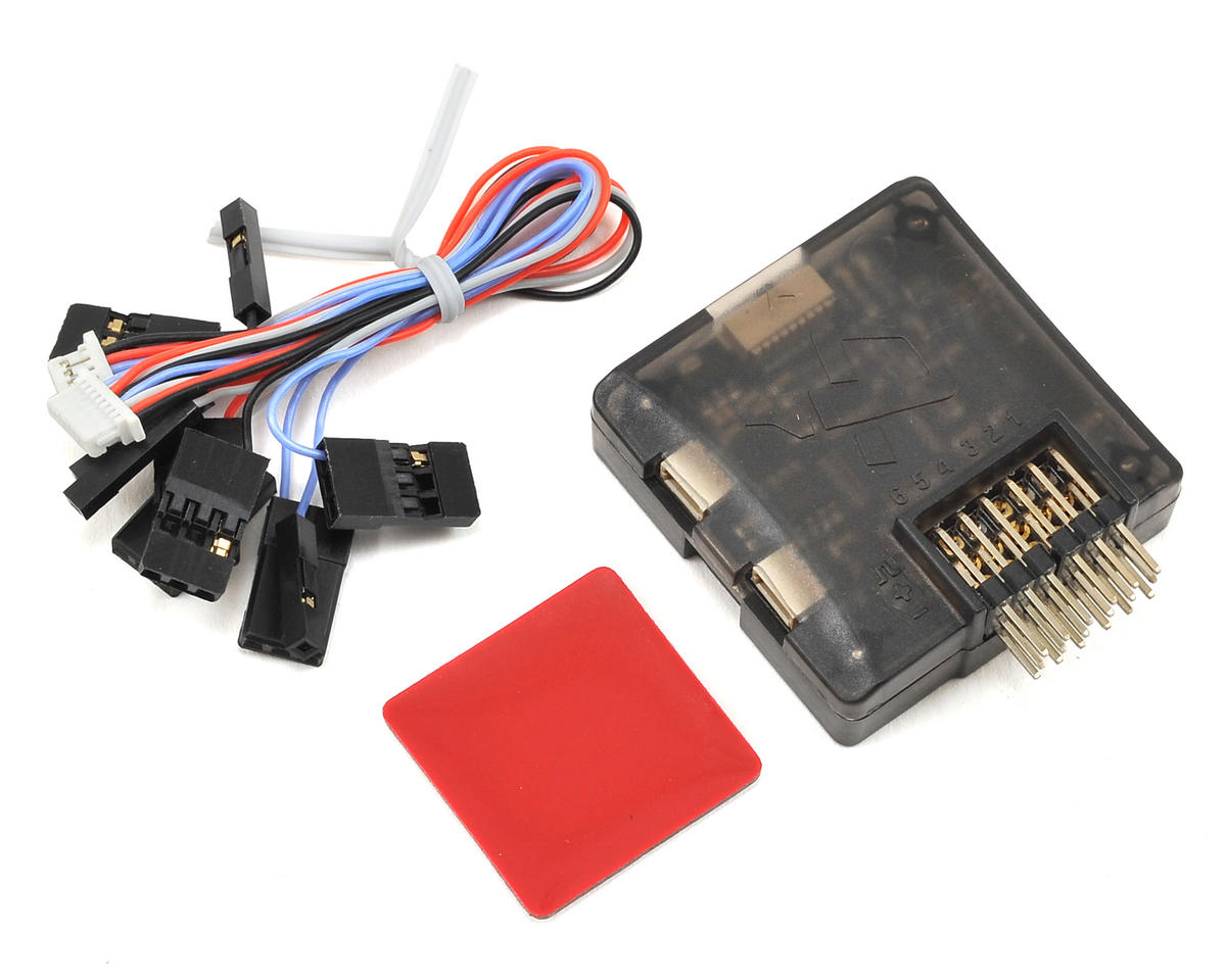 CopterControl CC3D 3D Flight Controller w/Case & Cables (Horizontal Pins)