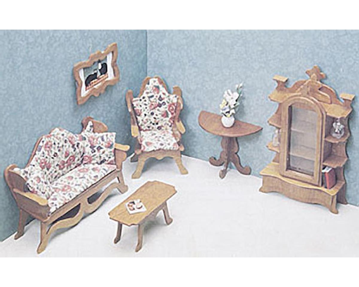Corona Concepts Dollhouse Living Room Furniture