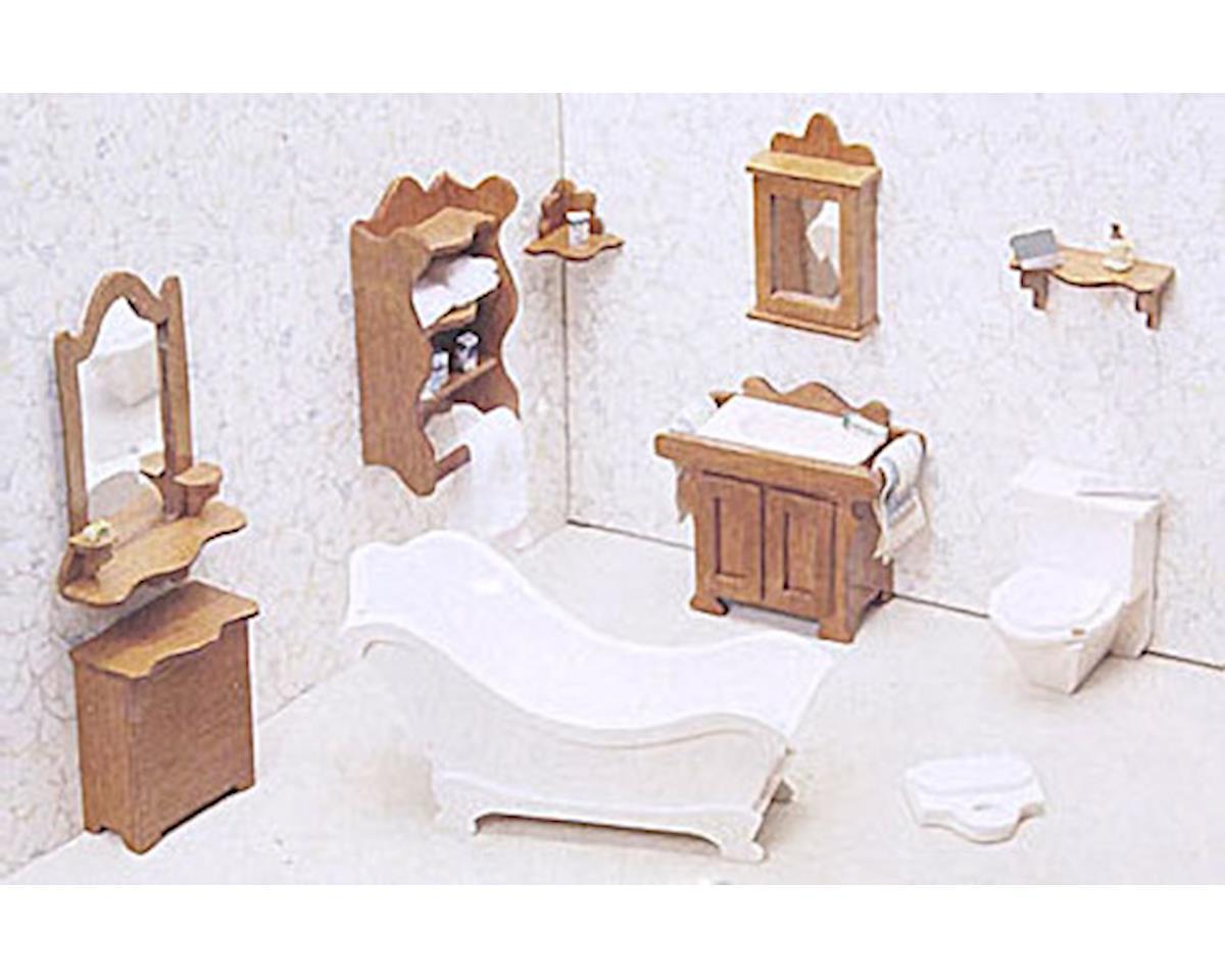 Bathroom Furniture by Corona Concepts Dollhouse
