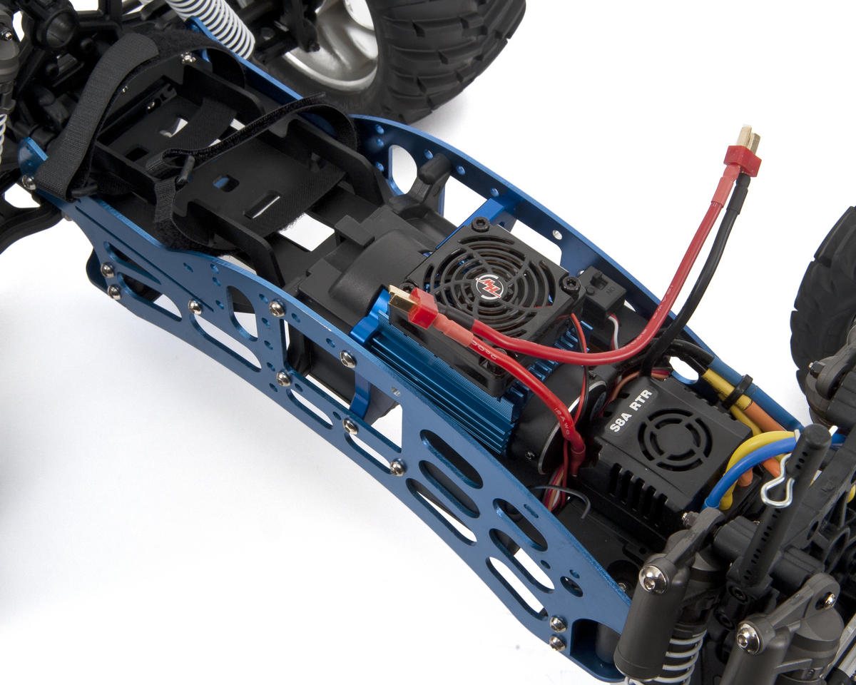 CEN Racing Colossus GST-E 1/8 Brushless 4WD Monster Truck w/2.4GHz Radio & 2200kV 4-Pole Motor