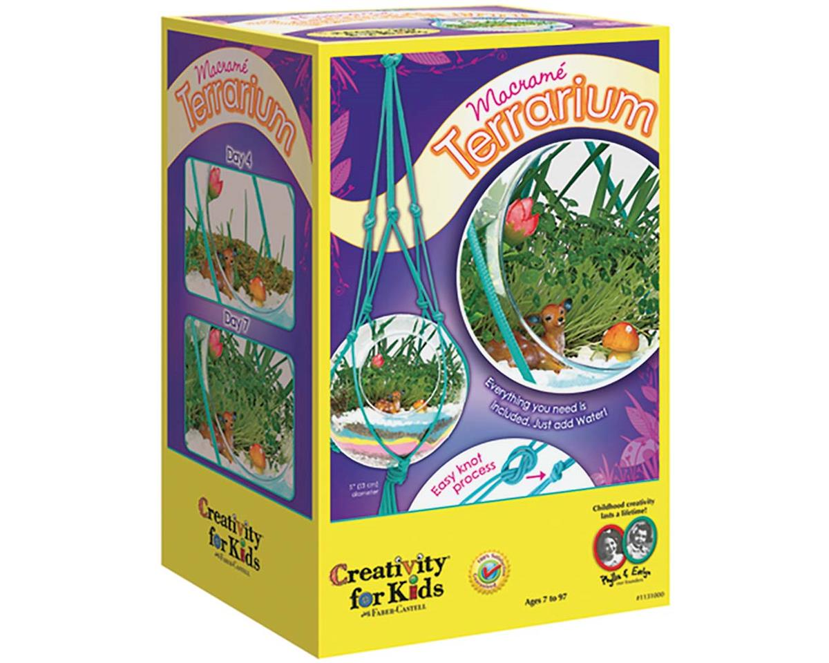 Creativity For Kids Macrame Terrarium