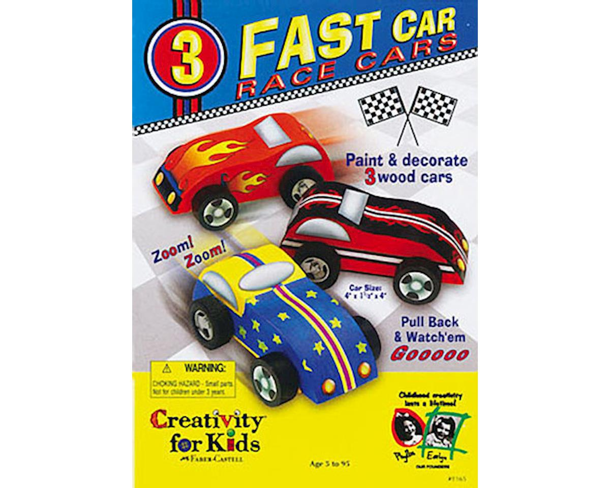 Creativity For Kids 1165000 Fast Car Race Cars Pull Back Kit