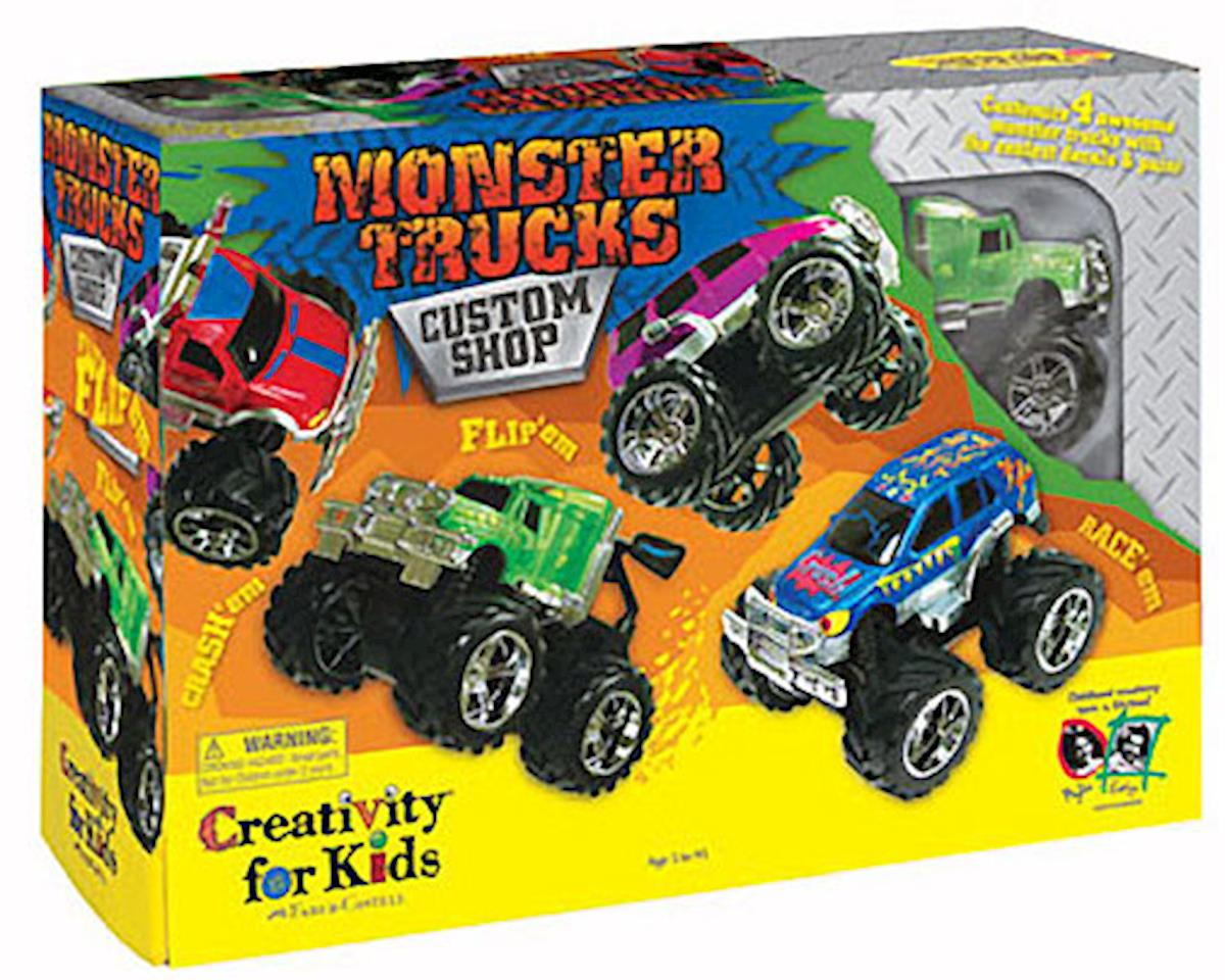 Creativity For Kids 1166000 Monster Trucks Custom Shop