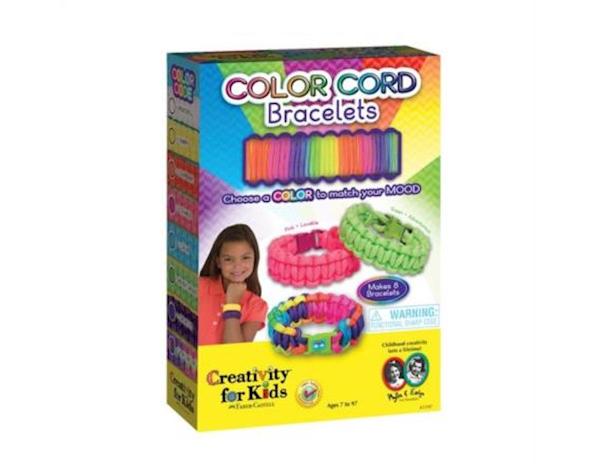 Creativity for Kids Color Cord Bracelets