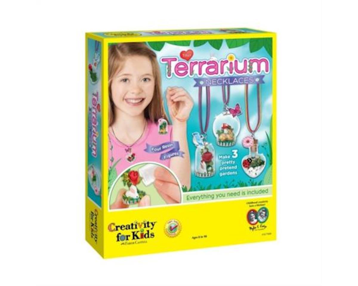 Tiny Terrarium Necklaces