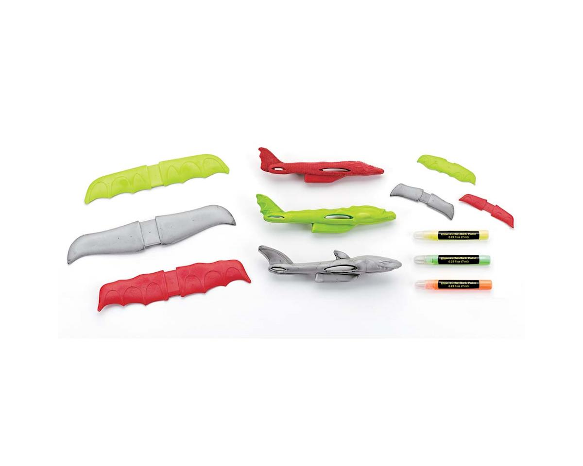 Creativity For Kids 1678000 Glow-In-The-Dark Creature Planes