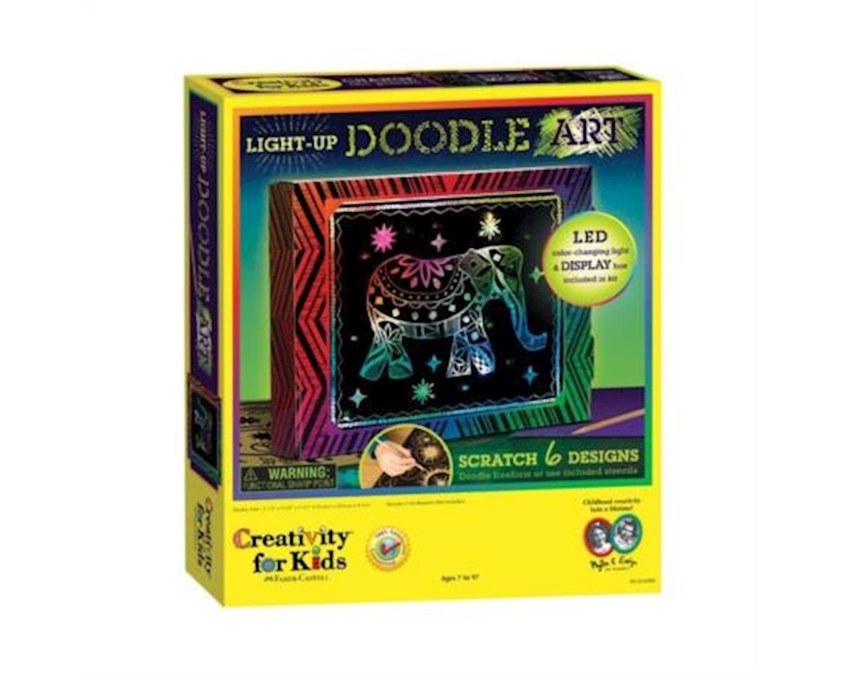 Creativity For Kids Light-Up Doodle Art
