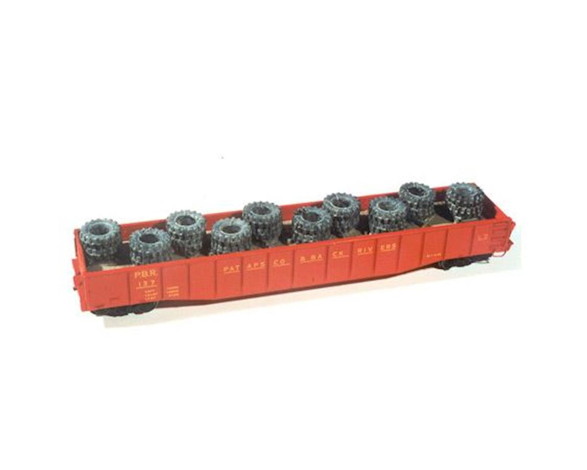 Chooch HO Heavy Tire Load: Gondola