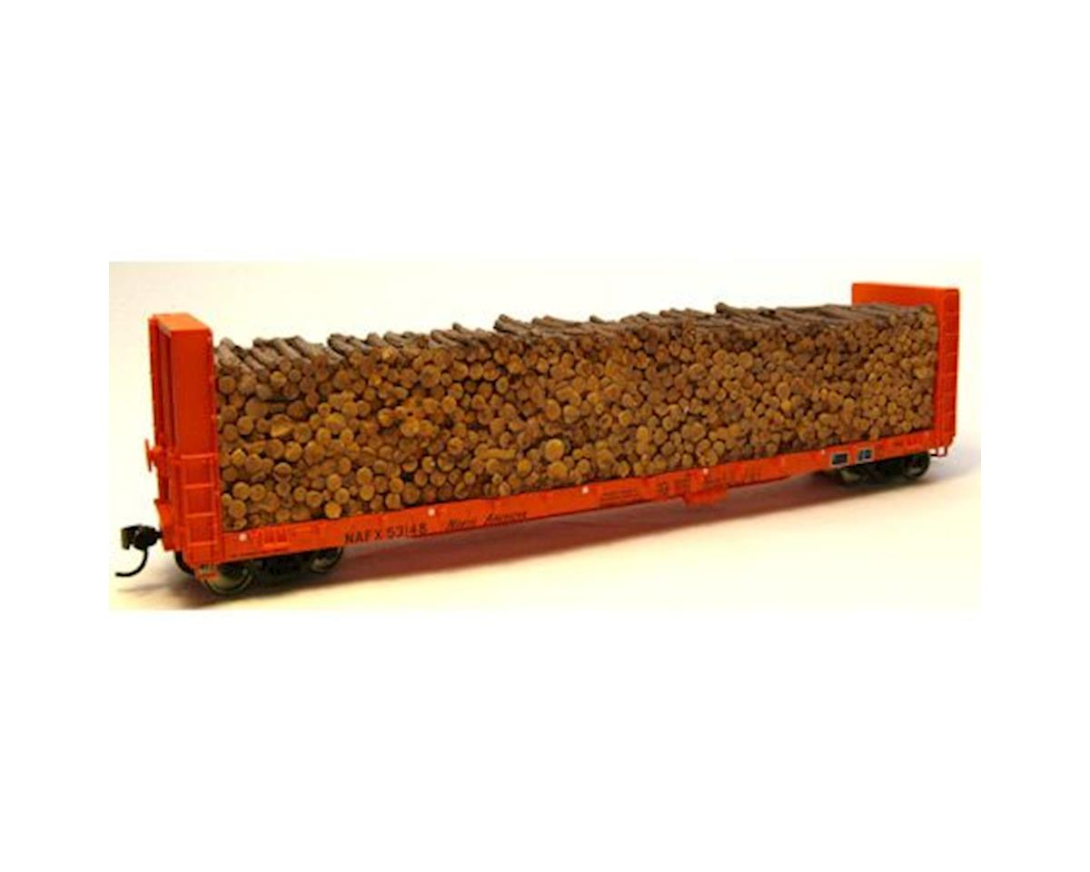HO Pulpwood Car Load: Walthers 40059 Series