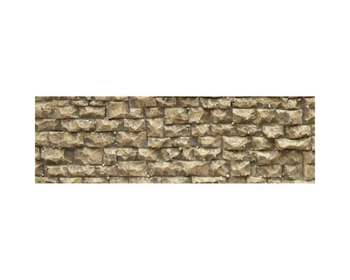 "Chooch HO/N Flexible Small Random Stone Wall, 3.5""x13"""