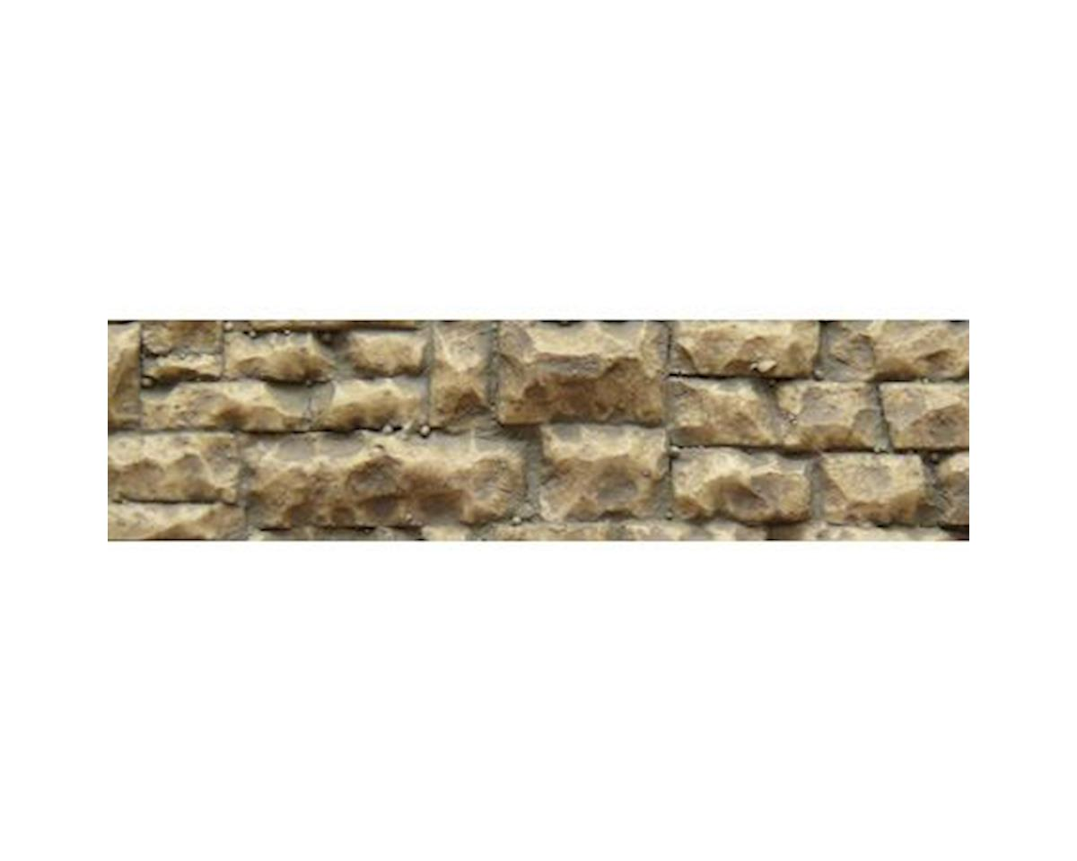 "Chooch HO/O Flexible Medium Random Stone Wall, 3.25""x14"""