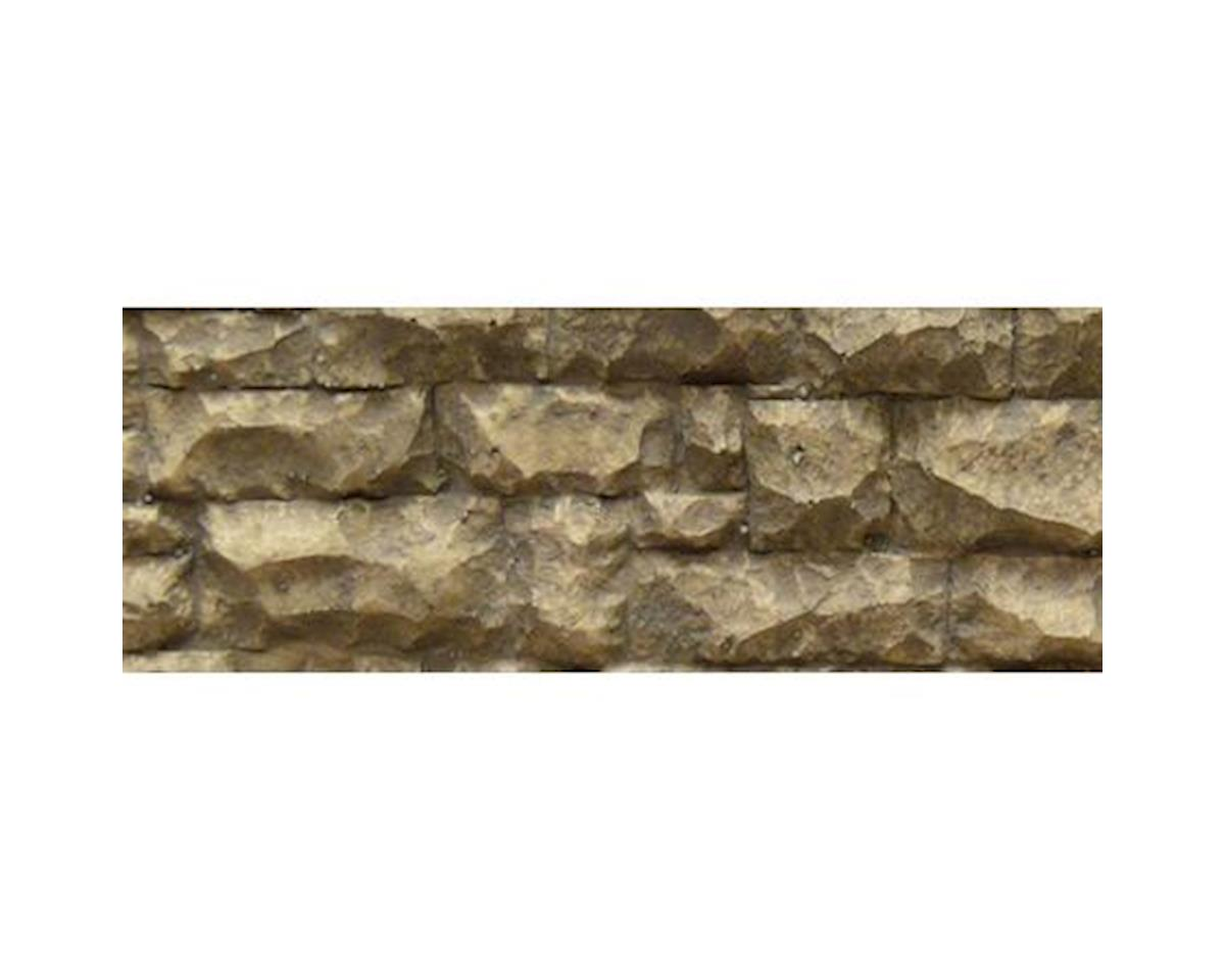 "O/G Flexible Large Random Stone Wall, 3.5""x13"""