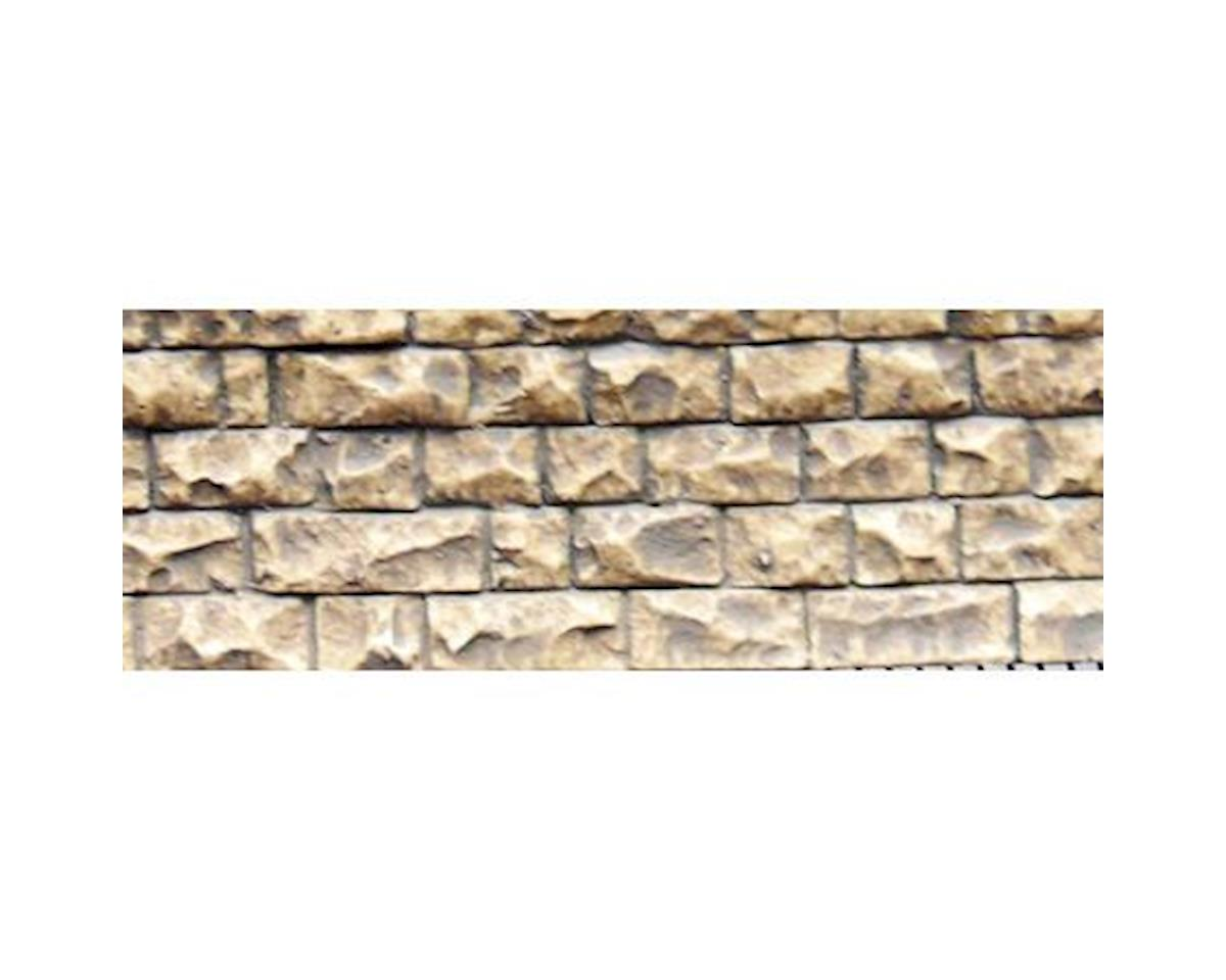 "Chooch HO/N Flexible Small Cut Stone Wall, 3.4""x13"""