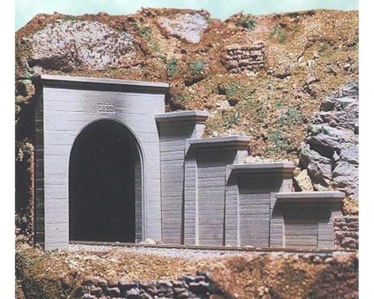 Chooch HO Single Concrete Tunnel Portal