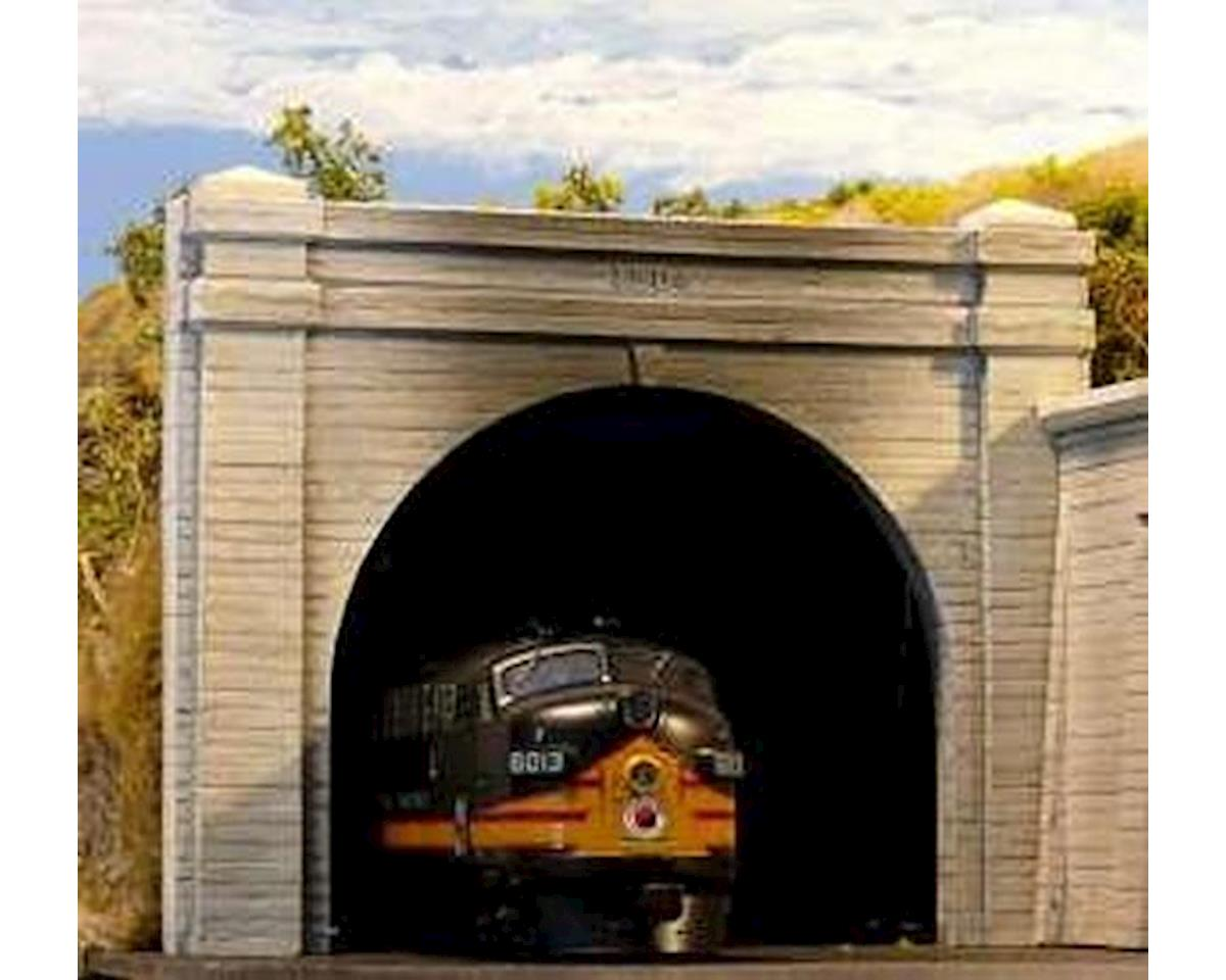 Chooch HO Double Concrete Tunnel Portal