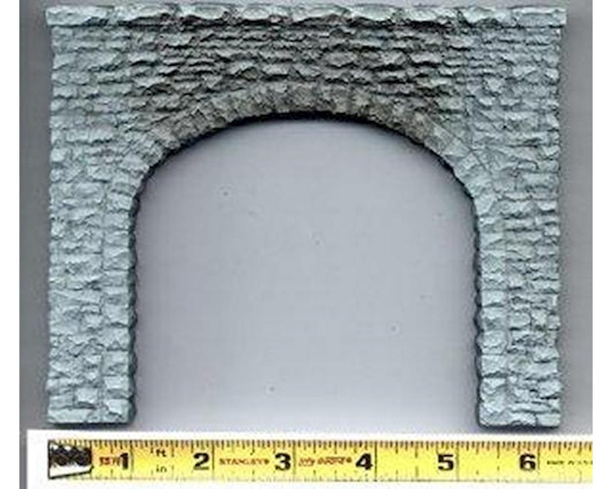 HO Double Random Stone Tunnel Portal by Chooch