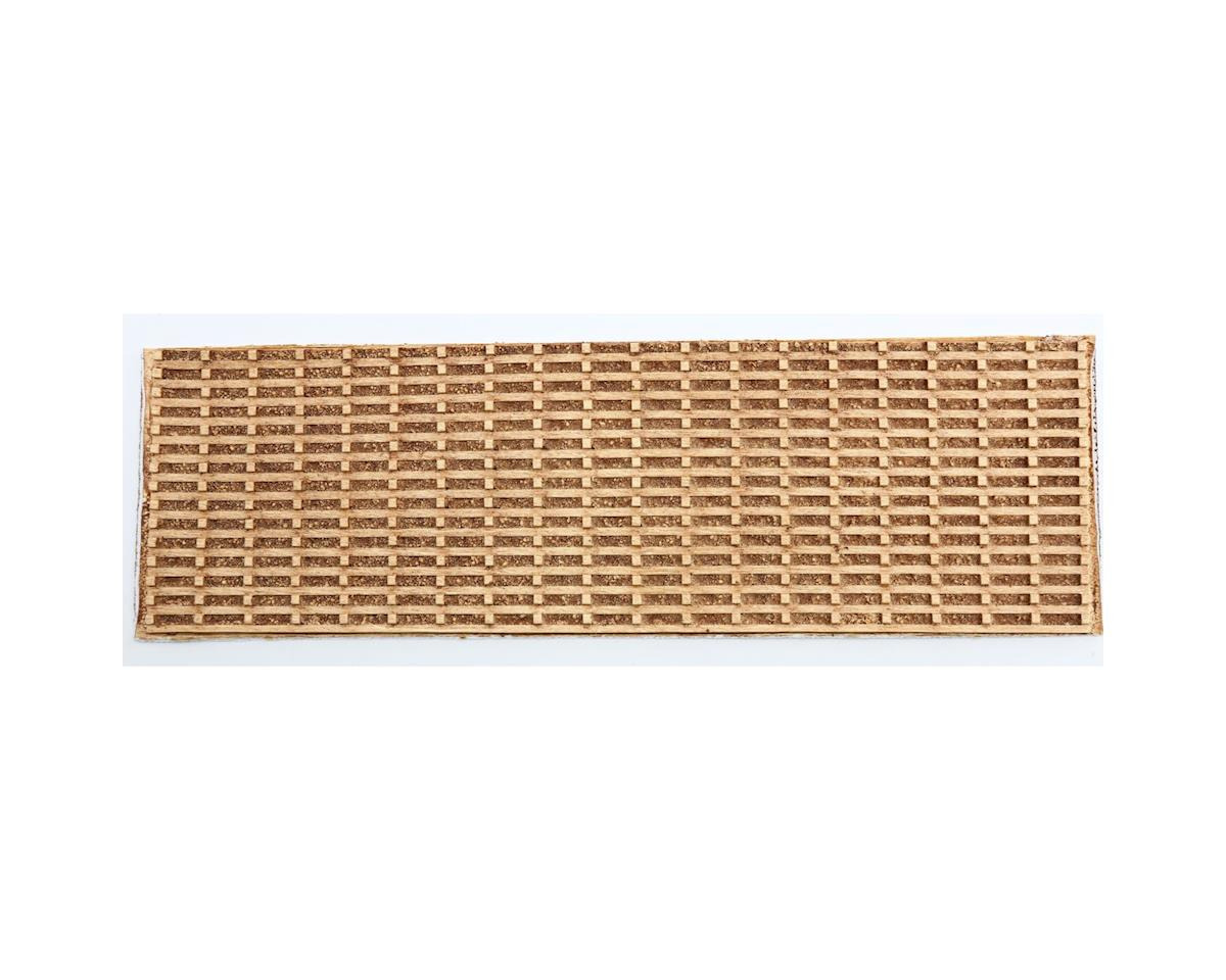 "Chooch HO Flexible Medium Timber Cribbing Wall, 4"" x 12"""