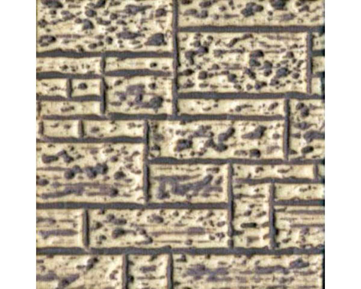 Chooch HO/O Flexible Large Stone Block Wall