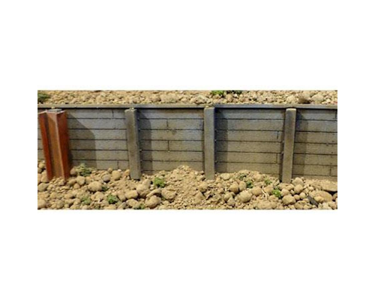 "Chooch Timber Retaining Wall, .75"" Planks"